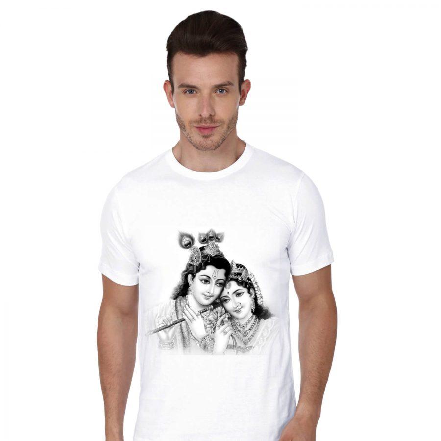Cottvalley-Polyester-Janmasthmi-Krishna-Gopal-Round-neck-Tshirt-002